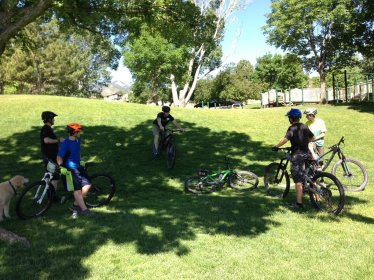 2018 skills clinic Downhill dismount