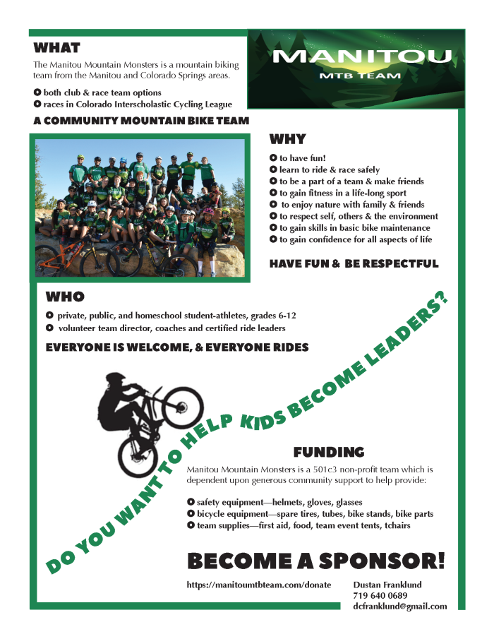 Sponsorship Flyer 2019